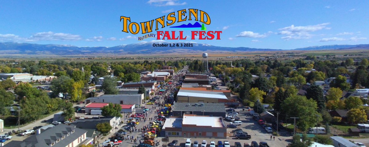 Rotary Club of Townsend, MT Fall Fest Banner