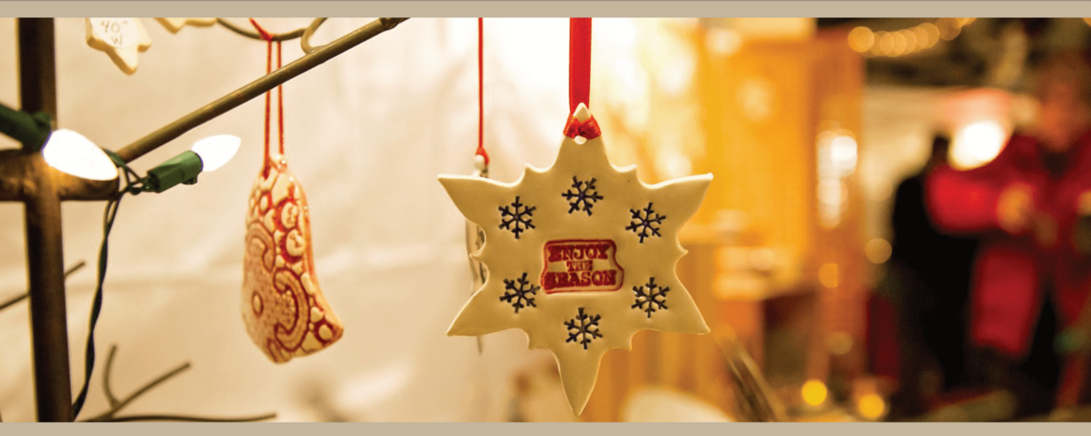 Holidays in the Village Banner