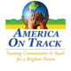 America On Track Logo