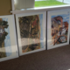 Raffle #2: FOUR one-of-a kind John Partridge painting prints.