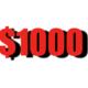 Donate $1000