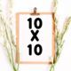 Arts & Crafts Booths: 10x10