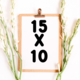 Arts & Crafts Booths: 15x10