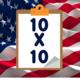 Democrats and Republicans: 10x10