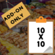Add-on: Additional Space for Food Vendors 10x10